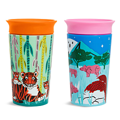 Miracle® 360° WildLove Sippy Cup, 9oz, 2pk