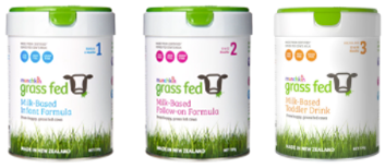 3 Grass Fed™ containers